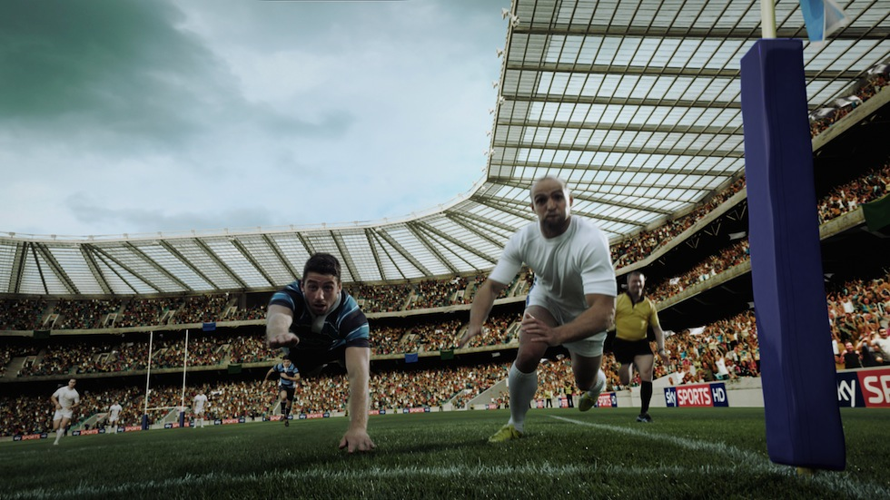 Rugby on Sky Title Sequence 2012/13